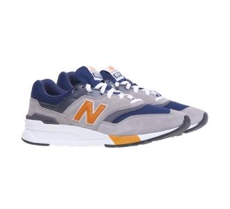 Sneaker New Balance 997H in camoscio e tessuto GRIGIO Grigio