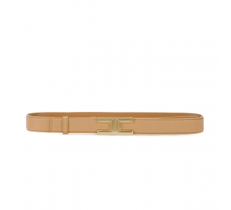 Cintura Elisabetta Franchi in pelle  Cammello