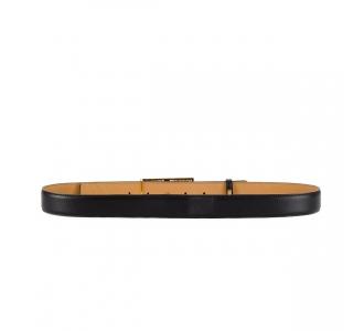 Cintura Elisabetta Franchi in pelle con logo in metallo  110