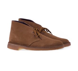 Clarks desert boot in camoscio  Cuoio