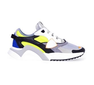 """Sneaker philippe model """"eze mondial reseau"""" Grigio"""