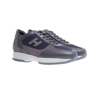 Sneaker hogan interactive Grigio - Blu
