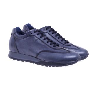Sneaker hogan h321 in pelle spazzolata Blu