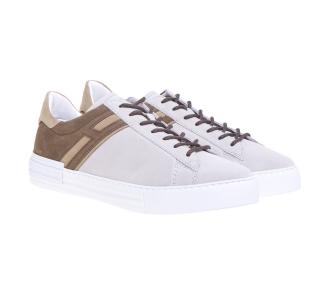 Sneaker Hogan H518 in camoscio (New Rebel) Beige
