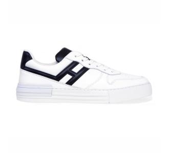 Sneaker hogan h526 rebel in pelle Bianco
