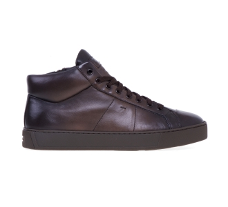 "Sneaker alta Santoni ""Gloria"" in pelle super soft Testa D.m."