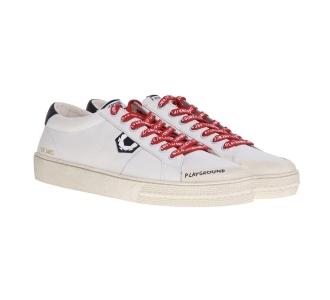Sneaker moa - master of arts in pelle bianca Bianco