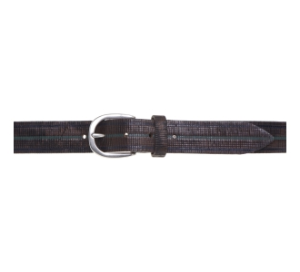Cintura Minoronzoni in pelle incisa Testa D.m.