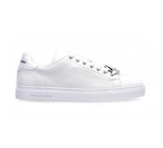 Philipp plein lo-top sneakers hexagon Bianco