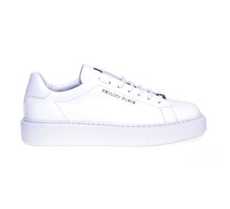 Philipp plein lo-top sneaker istitutional  Bianco