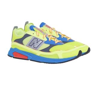 Sneaker New Balance in tessuto  Giallo Fluo