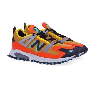 Sneaker new balance xracer in tessuto  Beige