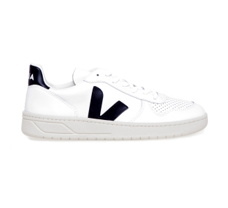 Sneaker VEJA V-10 in pelle  Black-natural