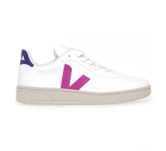 Sneaker Veja V-10 Vegan  Bianco