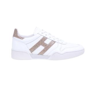 """Sneaker Hogan """"Retro Volley"""" in pelle Grigio"""