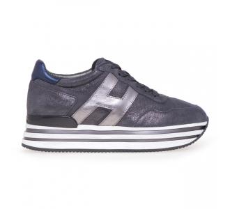 Sneaker Hogan MIDI platform  Grigio