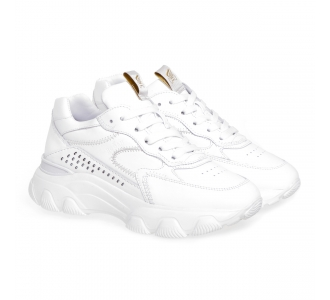 Sneaker Hogan Hyperactive in pelle  Bianco