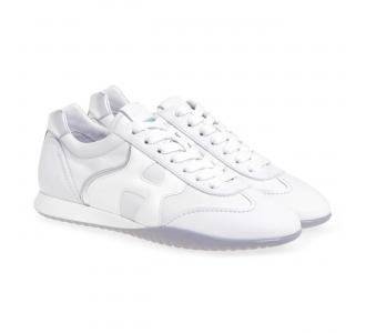 Sneaker Hogan Olympia-Z in pelle  Bianco