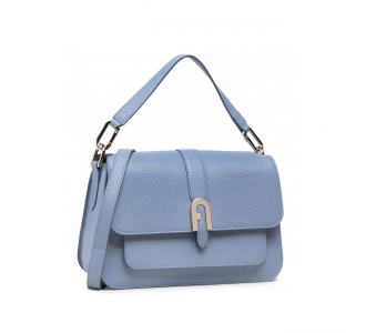 Furla Sofica Grainy M top handle Avio Light