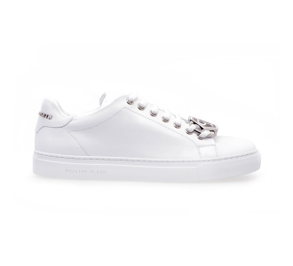 Philipp plein lo-top sneakers hexagon Bianco
